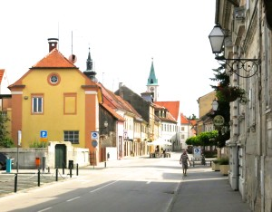 In Varazdin Croatia