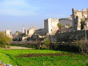Theodosian Walls & Garden Moat