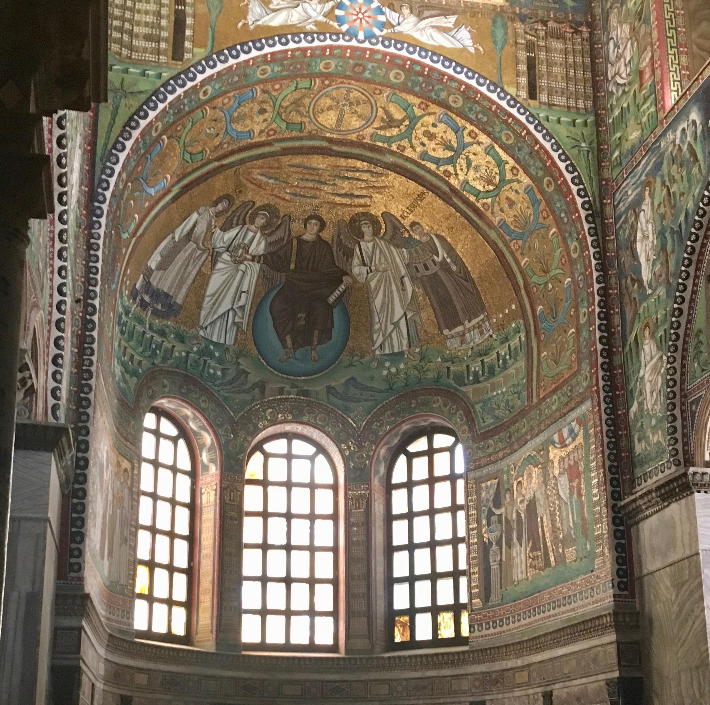 Byzantine era mosaics